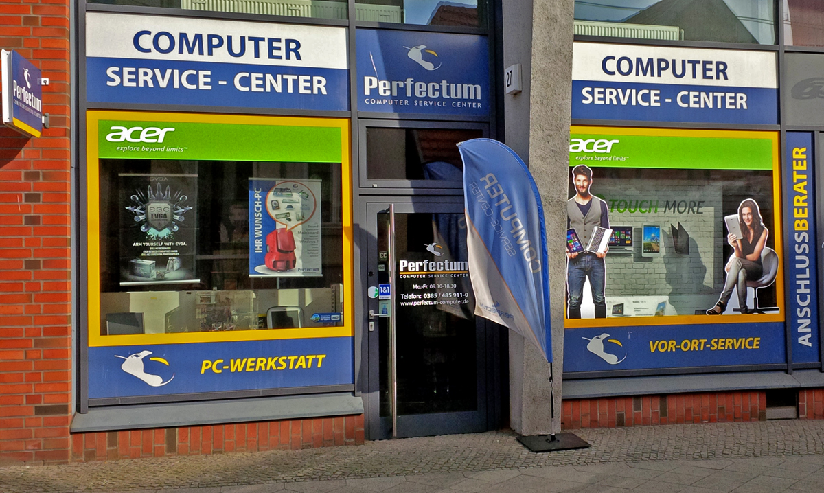 Computerladen / Computershop in Schwerin